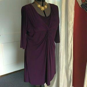 Passion plum dress